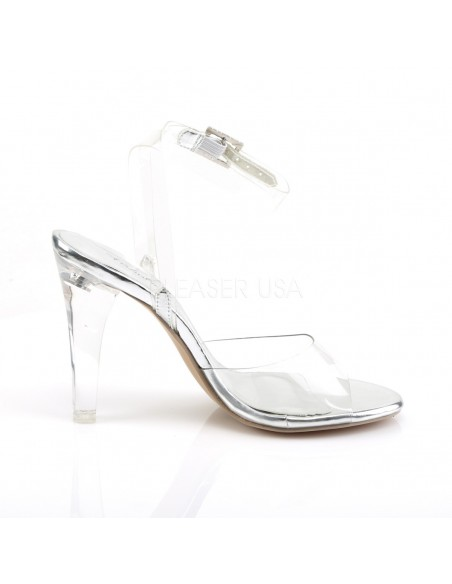 Sandalias abiertas muy elegantes sin plataforma con el empeine
