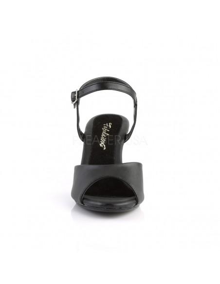 Sandalias Pleaser tacón bajo Belle-309 cuero sintético desde 35 a 48