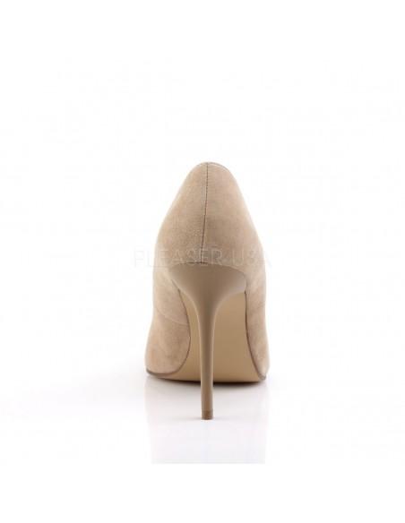 Zapatos de salón Classique-20 terciopelo y tacón aguja talla 35 a 48