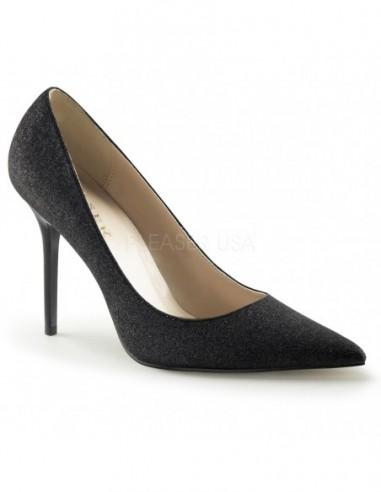 Zapatos de salón Classique-20 tacón aguja y recubierto de purpurina
