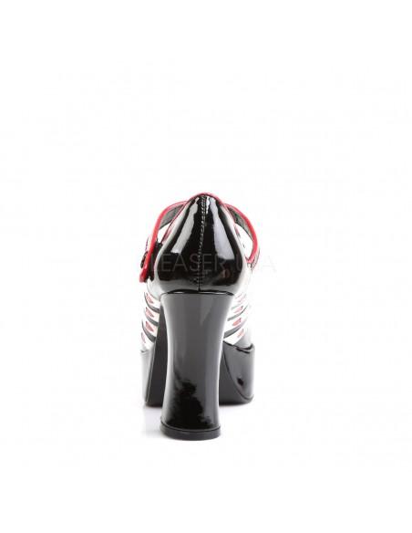 Zapato disfraz poker línea retro