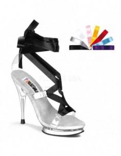 Preciosa sandalia cintas varios colores
