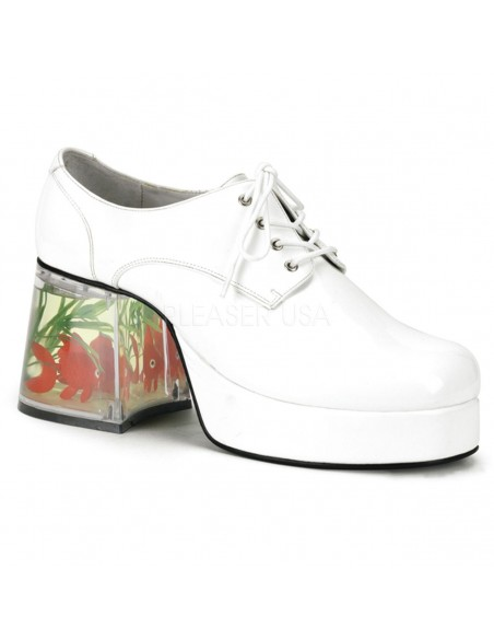 Zapato retro plataforma peces