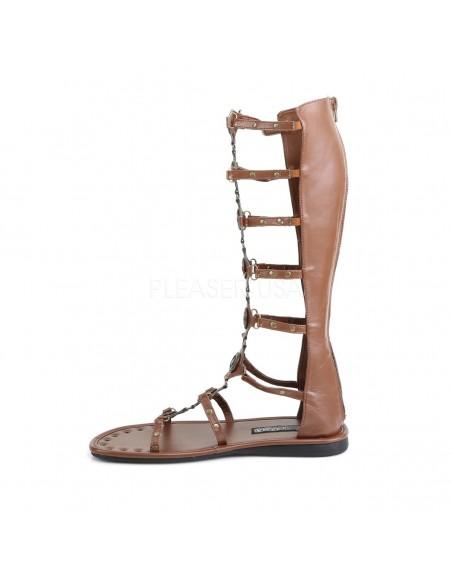 Sandalia romana hebillas