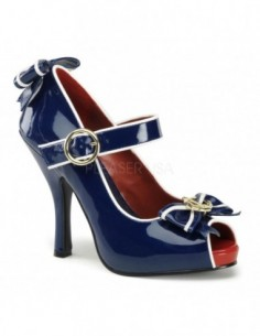 Zapato disfraz marinera