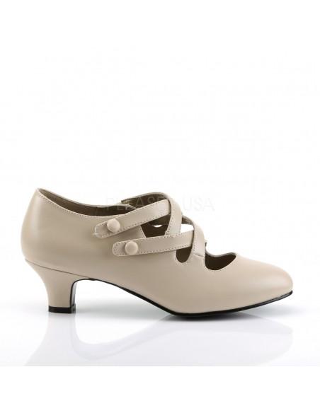 """Zapato clásico de época de la colección """"Funtasma"""" de tacón bajo"""