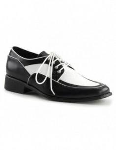 Zapatos para hombre de estilo Osford acordonados y en dos tonos