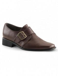 Zapatos para hombre en cuero sintético con hebilla