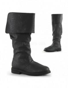 Botas de hombre en cuero sintético envejecido para disfraz medieval