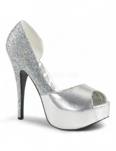 Zapatos Teeze con plataforma y ancho especial en tallas grandes