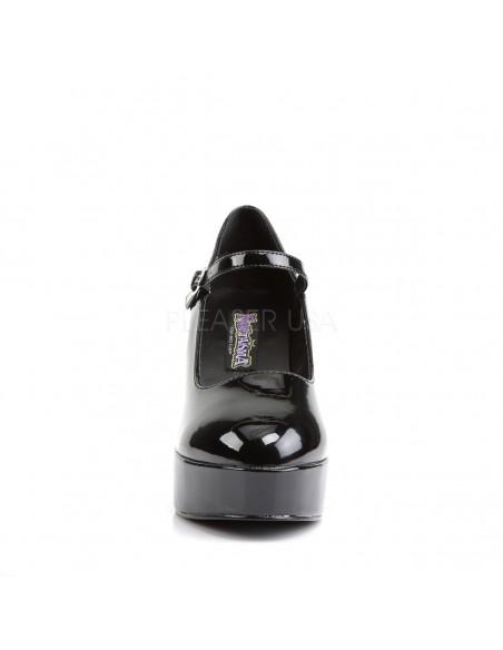 Zapato plataforma extraancho tacon grueso