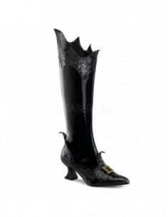 Original bota para disfraz de vampiro