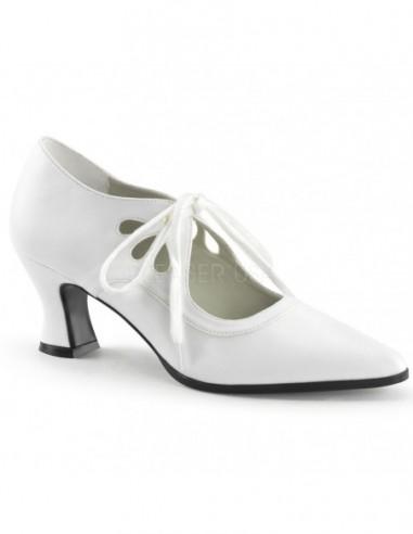 Zapatos clásicos de estilo victoriano moda Steampunk acordonados