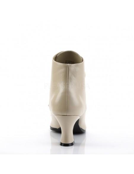 Zapatos abotinados en polipiel acordonados estilo Victoriano Steampunk