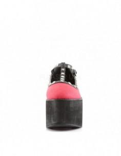 M.RING6-S1 NEW ROCK FLOR DE LYS METAL RING