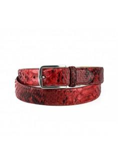 Cinturón Mayura Pitón Rojo