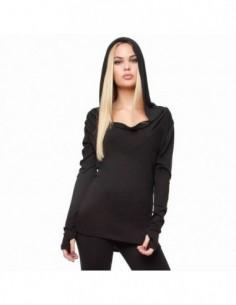 OVG Woman's Hoodie DEVA black