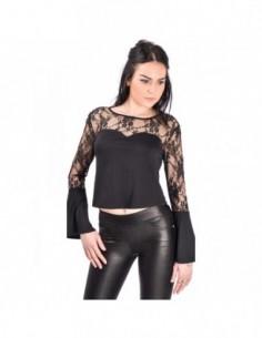 OVG Woman's Top Belle Black