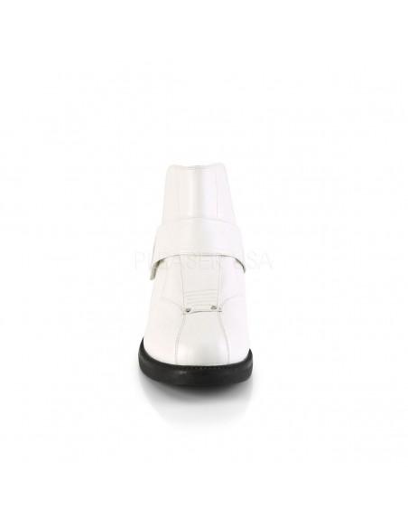 Botines para hombre CLONE-102 de cuero sintético para disfraz