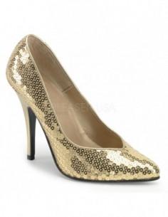 Zapato seductor lentejuelas elegante