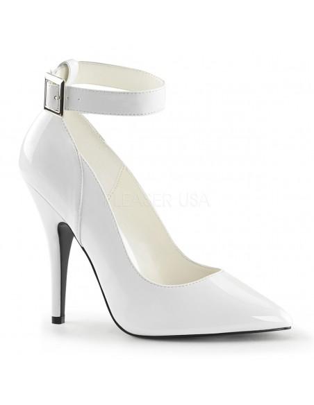 Zapato barquilla clasica con pulsera en el tobillo