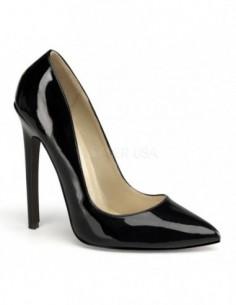 Zapato retro con barquilla clásica