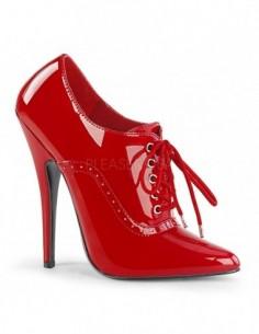 Para tus juegos fetish DOMINA-460 Zapatos charol acordonados por delante