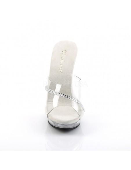 Zapato sexy zueco abierto