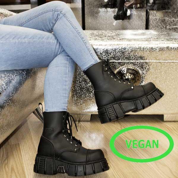 Botas y Zapatos Veganos